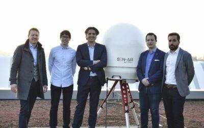 Senhive haalt 650.000 euro op na begeleidingstraject via de Drone Business School