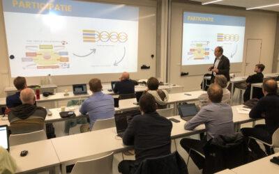 Wim Dries geeft gastcollege aan de PXL Digital Business School
